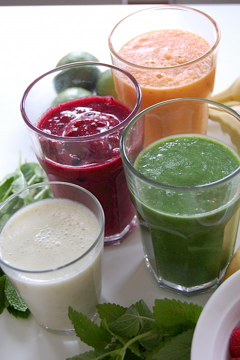 Frische Smoothies